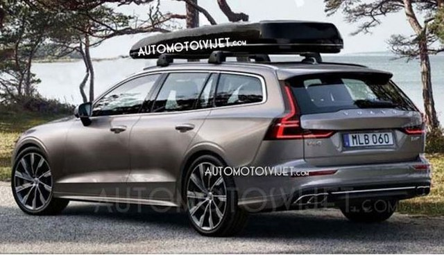 nouvelle volvo v60 les premi res photos sans camouflage volvo passion. Black Bedroom Furniture Sets. Home Design Ideas