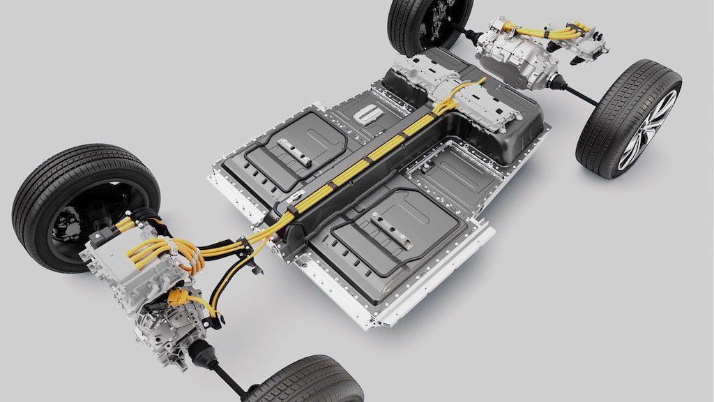 Volvo XC40 electrique